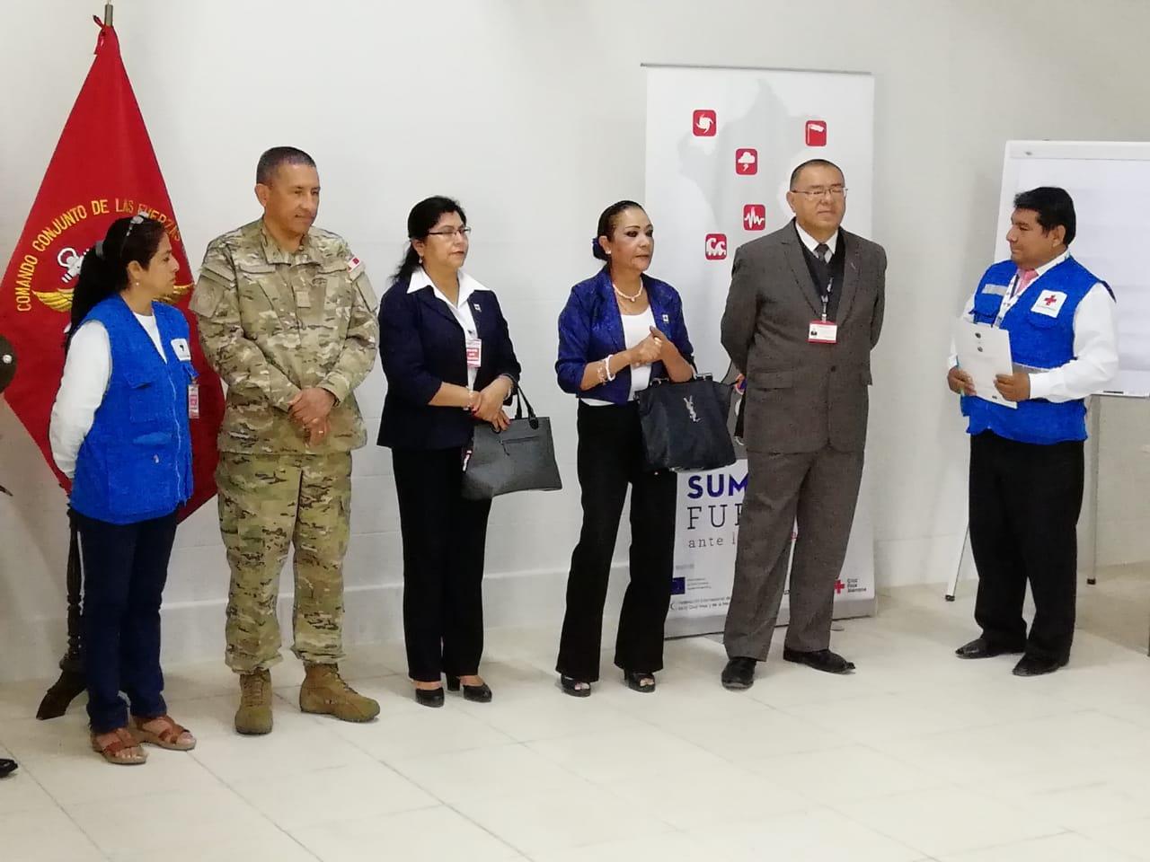 Curso de Relaciones Cívico-Militares, Piura 2018